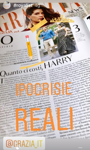 Harry l'eco-ipocrita